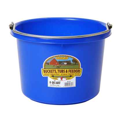 Picture of BUCKET PLASTIC  8 QUART - Blue