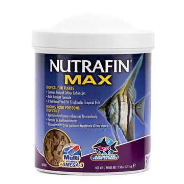 Picture of NUTRAFIN MAX TROPICAL FISH FLAKES(A6706)-215g