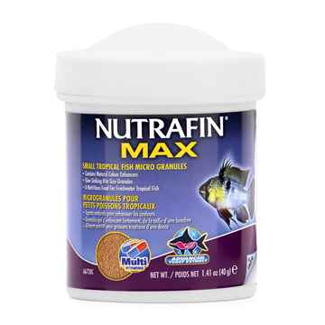 Picture of NUTRAFIN MAX Small Tropical Fish Micro Granules(A6720)-40g
