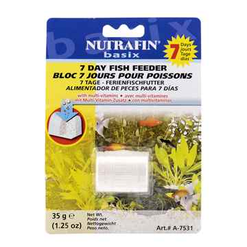 Picture of NUTRAFIN BASIX 7 DAY FISH FEEDER (A7531) - 35g