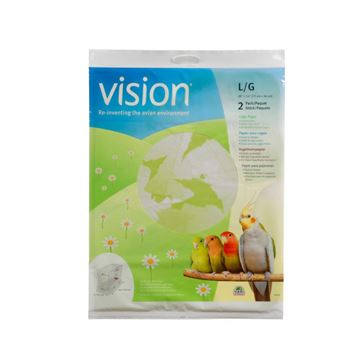 Picture of BIRD CAGE Vision Cage Paper Only (80275) 28in x 14in - 2 pieces