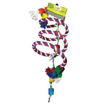 Picture of LIVING WORLD AVIAN Bungee Play Bouncing Perch (81746)