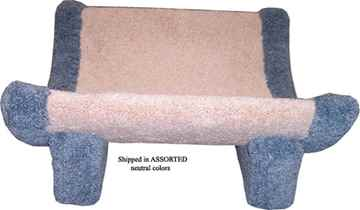 Picture of CAT SCRATCH Kitty Cradle Sleeper - 14inx14inx18in