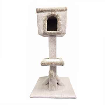 Picture of CAT SCRATCH Cat House - 24in x 24in x 48in
