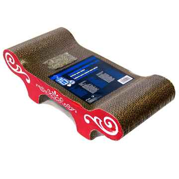 Picture of TOY CAT Catit Bench Design Scratcher with Catnip- 20in