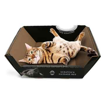 Picture of TOY CAT RIPPLE BOARD SCRATCH MASSAGE BED