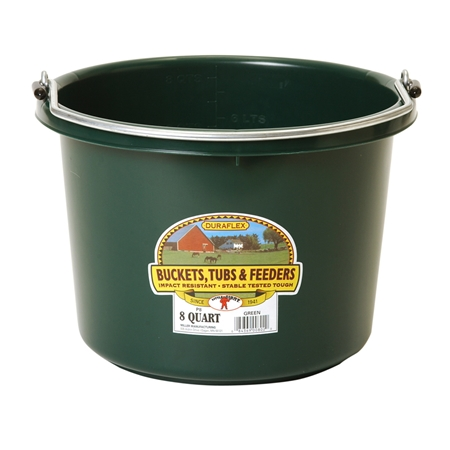 Picture of BUCKET PLASTIC 8 QUART -  Green