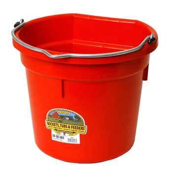 Picture of BUCKET PLASTIC FLATBACK 20 QUART - Red