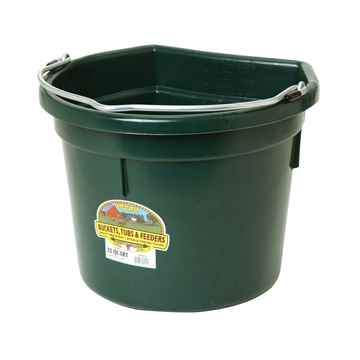 Picture of BUCKET PLASTIC FLATBACK 22 QUART - Green