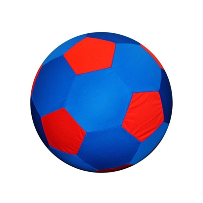 Picture of JOLLY BALL EQUINE JOLLY MEGA BALL Cover Red/Blue Soccer Ball - 25in