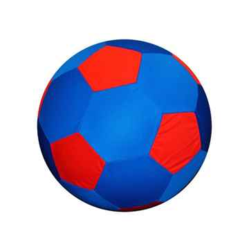 Picture of JOLLY BALL EQUINE JOLLY MEGA BALL Cover Red/Blue Soccer Ball - 30in