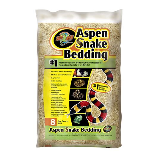 Picture of ASPEN SNAKE BEDDING ZooMed - 8qt