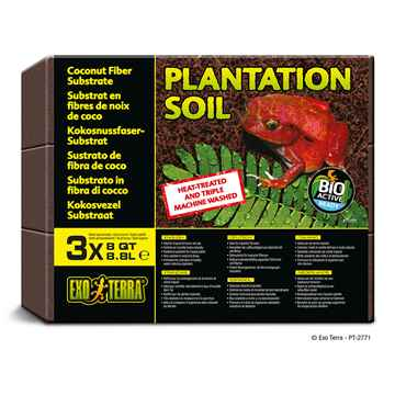 Picture of EXO TERRA PLANTATION SOIL (PT2771) - 3 x 8.8 Liter