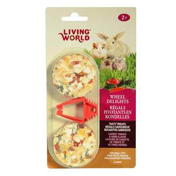 Picture of LIVING WORLD WHEEL DELIGHTS Carrot/Tomato/Herb - 2/pk