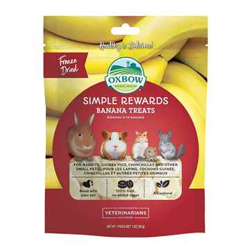 Picture of OXBOW SIMPLE REWARDS BANANA - 30g