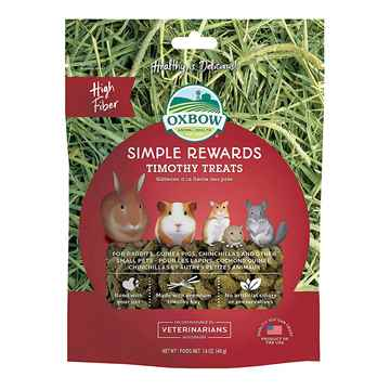 Picture of OXBOW SIMPLE REWARD TIMOTHY TREATS - 40gm