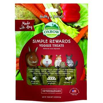 Picture of OXBOW SIMPLE REWARD VEGGIE TREATS - 60gm