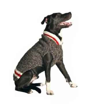 Picture of SWEATER CANINE Chilly Dog Classic Boyfriend Grey - Large