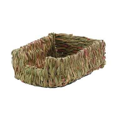 Picture of WOVEN GRASS PET BED Marshalls - 10.5in x 8in x 5in