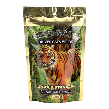 Picture of TOY CAT TIGER GRASS CATNIP - 28g