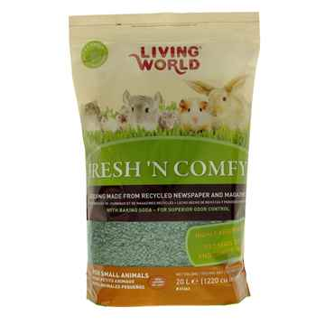 Picture of LIVING WORLD FRESH N COMFY BEDDING Green - 20 L