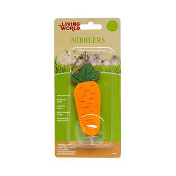 Picture of LIVING WORLD WOOD CHEW NIBBLERS - Carrot
