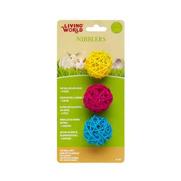 Picture of LIVING WORLD NIBBLERS WILLOW CHEWS(61486) - Balls