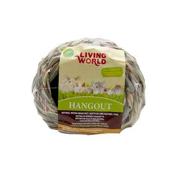 Picture of LIVING WORLD Hang Out Grass Hut - 5.5in x 5.5in x 4.5in