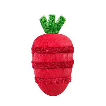 Picture of LIVING WORLD WOOD/LOOFAH NIBBLERS(61481) - Strawberry