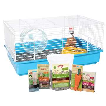 Picture of CAGE LIVING WORLD HAMSTER STARTER KIT