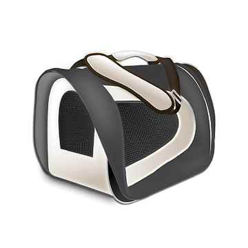 Picture of TUFF CRATE Airline Carrier 17in x 10in x 9in - Black and Grey
