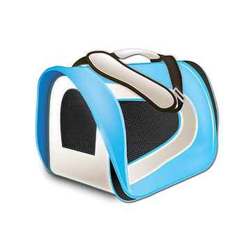Picture of TUFF CRATE Airline Carrier 17in x 10in x 9in - Blue and Grey