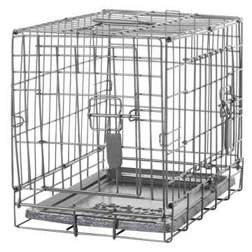 Picture of DOGIT DOUBLE DOOR DOG CRATE with DIVIDER - 18.2in x 12in x 14.5in