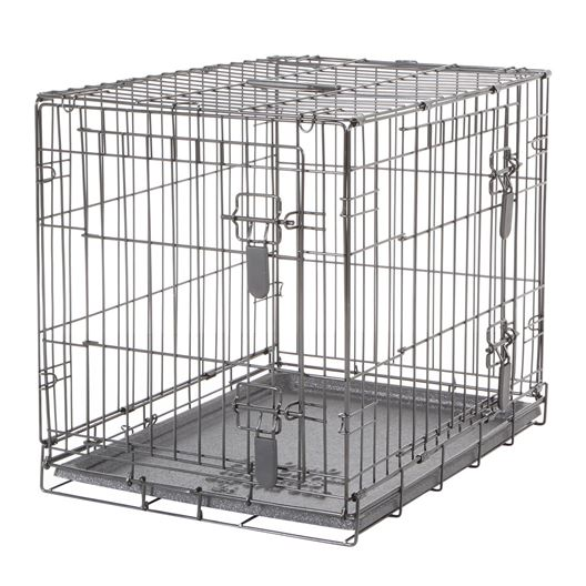 Picture of DOGIT DOUBLE DOOR DOG CRATE with DIVIDER - 24in x 17.5in x 20in