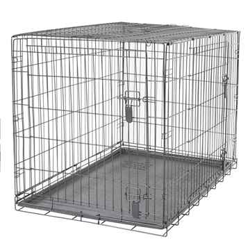 Picture of DOGIT DOUBLE DOOR DOG CRATE with DIVIDER - 42in x 27.5in x 30in(tu)