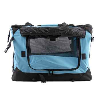Picture of TUFF CRATE DELUXE SOFT CRATE Large 31.5in x 21.5in x 23.5in - Sky Blue