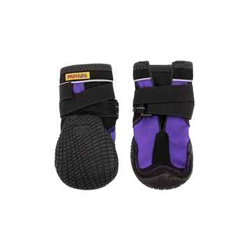 Picture of BOOTS MUTTLUK DOG SNOW MUSHERS X Small Purple - 2/pk(tu)
