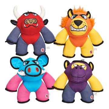 Picture of TOY DOG BEEFY BRUTES Cotton/Poly Canvas Toys Assorted - 10in