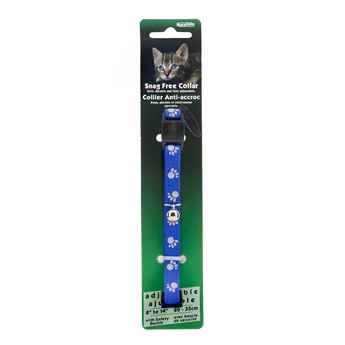 Picture of COLLAR CAT REFLECTIVE SNAG FREE BREAK AWAY-Blue