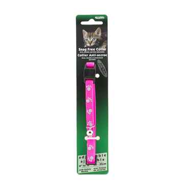 Picture of COLLAR CAT REFLECT SNAG FREE BREAK AWAY- Neon Pink