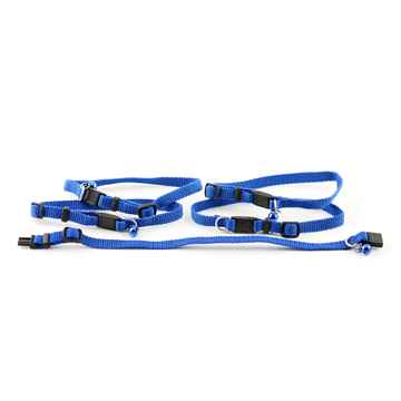 Picture of COLLAR CAT Nylon safety Adjustable 7 - 11in Blue - 5/pk