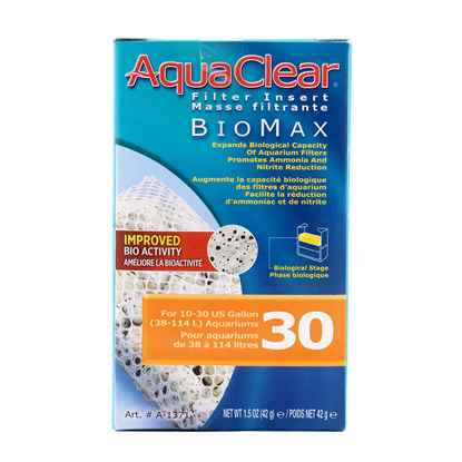 Picture of AQUACLEAR 30 Biomax Filter insert (A1371)- 65g