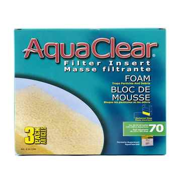 Picture of AQUACLEAR 70 Foam Filter Insert - 3pc per box