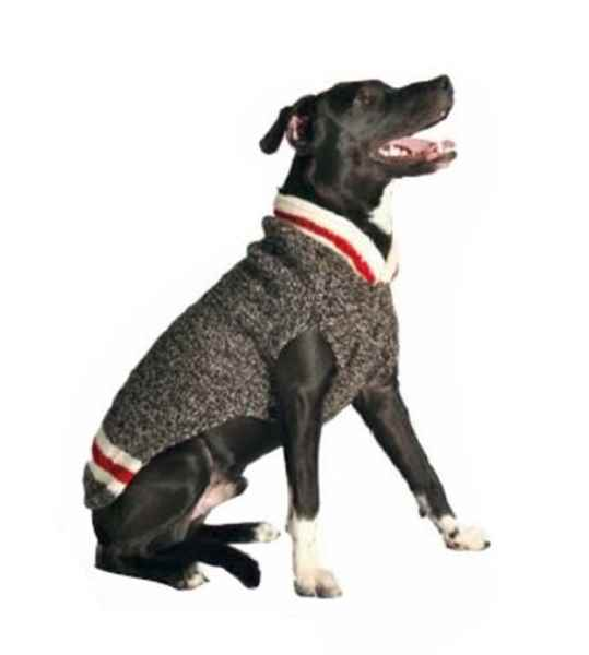 Picture of SWEATER CANINE Chilly Dog Classic Boyfriend Grey - Medium