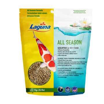 Picture of LAGUNA ALL SEASON GOLD FISH & KOI  FOOD (PT84) - 4.4lbs