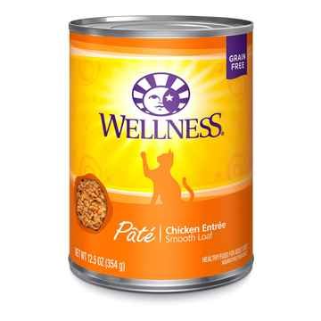 Picture of FELINE WELLNESS GF Pate Chicken Entree - 12 x 12.5oz cans