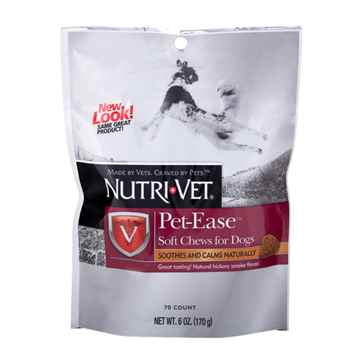 Picture of NUTRI-VET PET EASE SOFT CHEW for DOGS - 6oz