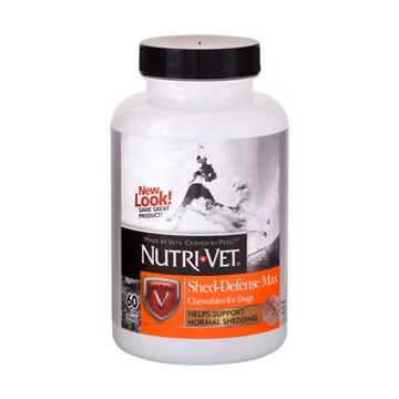 Picture of NUTRI-VET CANINE SHED-DEFENSE MAX chewable - 60's