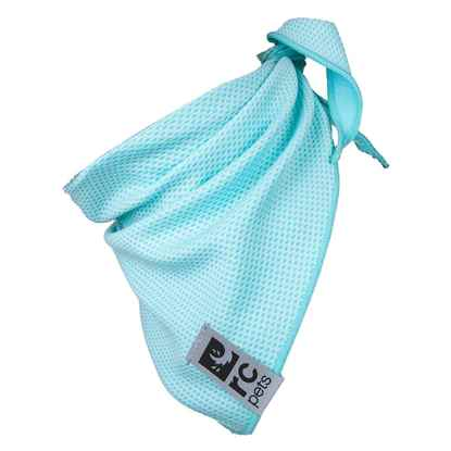 Picture of CANINE ZEPHYR COOLING BANDANA Ice Blue - Small