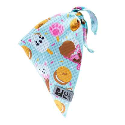 Picture of CANINE ZEPHYR COOLING BANDANA Ice Cream - Small